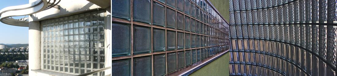 Commercial Glass Block window installation