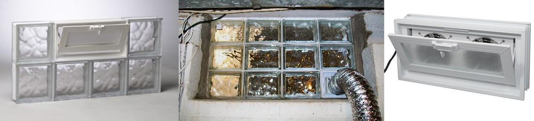 hawkeye glass block vents slider